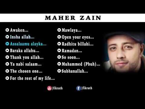 Maher Zain Top 15 Songs 2014   Audio JukeBox