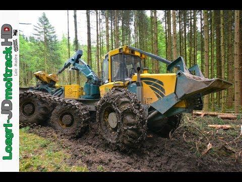Big hsm 6 roues sarl perrin fils au d bardage de bois 2017 youtube - Machine couper bois chauffage ...