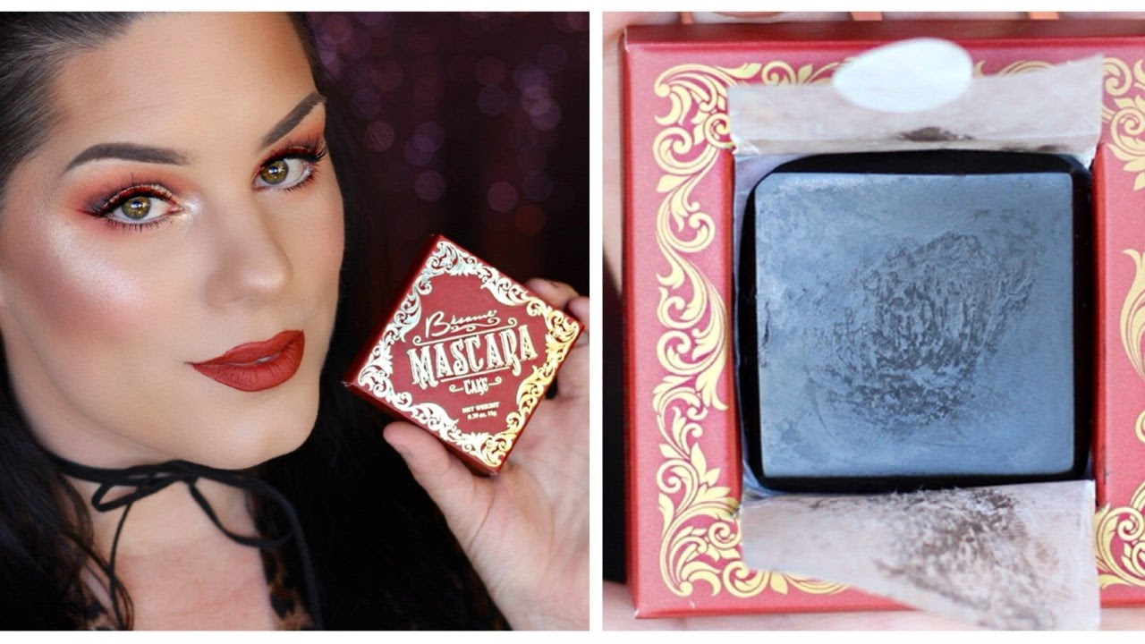 Besame Mascara Cake First Impressions and Demo - YouTube