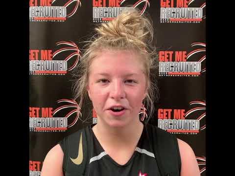 Evie DePetro (Team Carolina/Carter HS/Knoxville, TN) 2020 5'9 PG