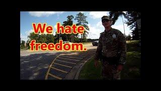 Pineville,La.-Camp Beauregard 911 call by National Guardsman