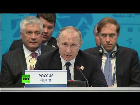 Putin speaks at SCO meeting in Kazakhstan (streamed live)