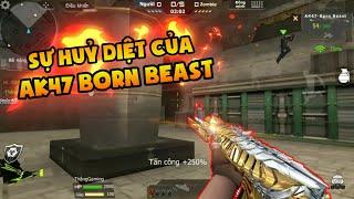 "CF Mobile / CF Legends : Trên Tay AK47 Born Beast ""Noble Gold"" Săn Zombie   Troll Anh Em"