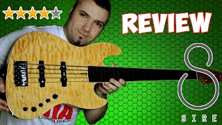 SIRE V9 Fretless Jazz Bass Marcus Miller 5 string - review and test - #sirerevolution