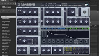 Massive Tutorial - How to create 808 Sub Bass from Scratch - Maschinemasters.com