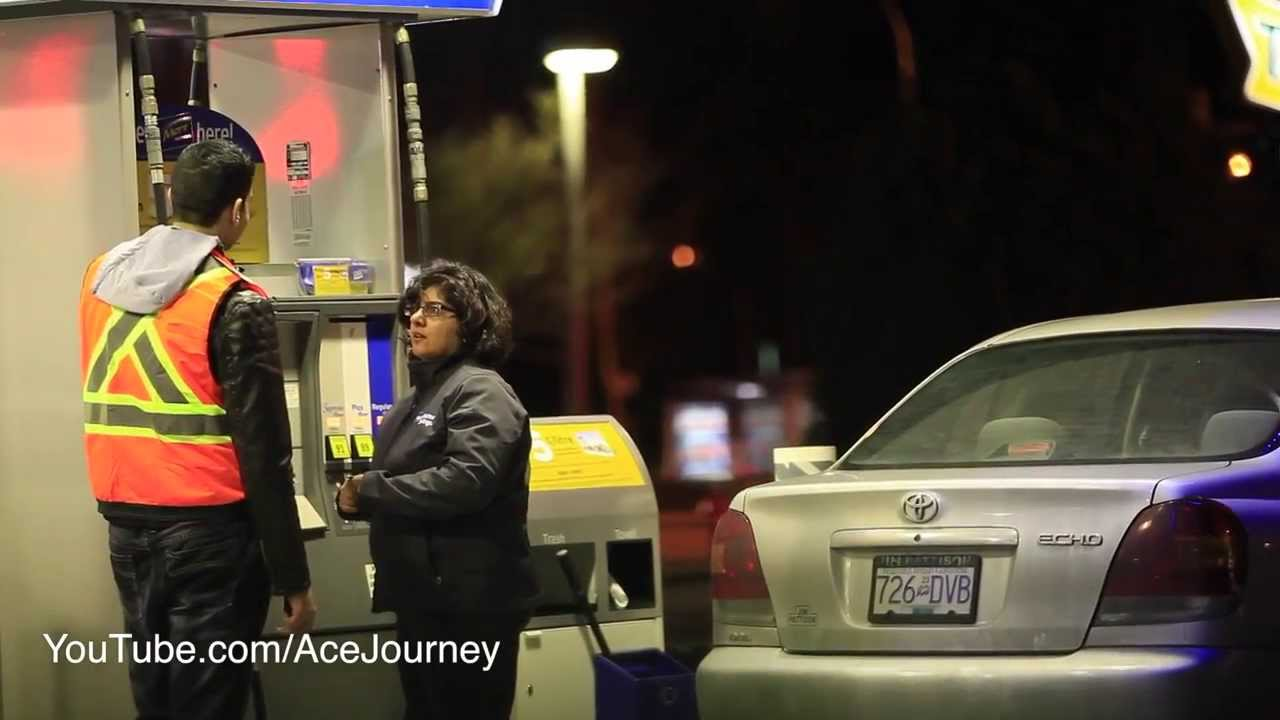 I Need A Gas Station >> Paying For People's Gas || Gas Station Christmas Miracle - YouTube