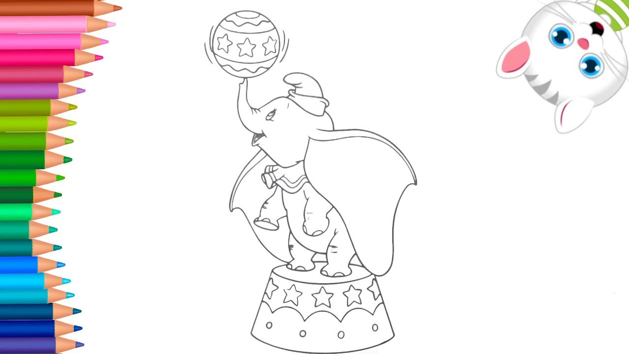 Dumbo and tim 2 coloring pages - Hellokids.com | 720x1280