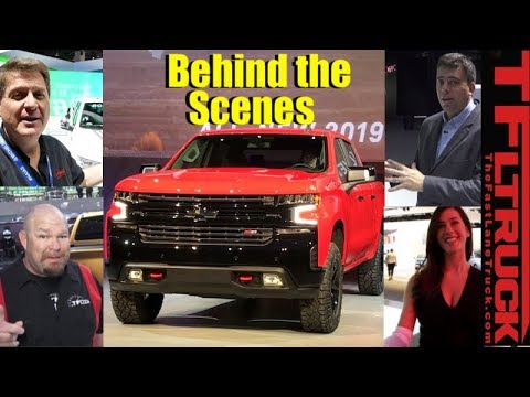 Behind The Scenes of Press Days at the 2018 Detroit Auto Show
