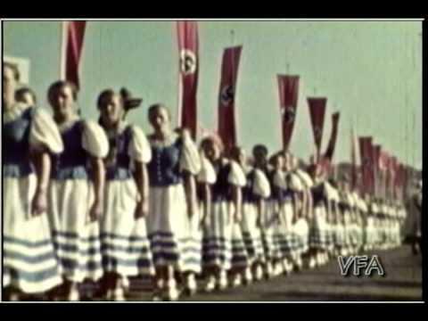 WWII Germany Home Movies 1939-1940 Leipzig Grainau German Sgt.