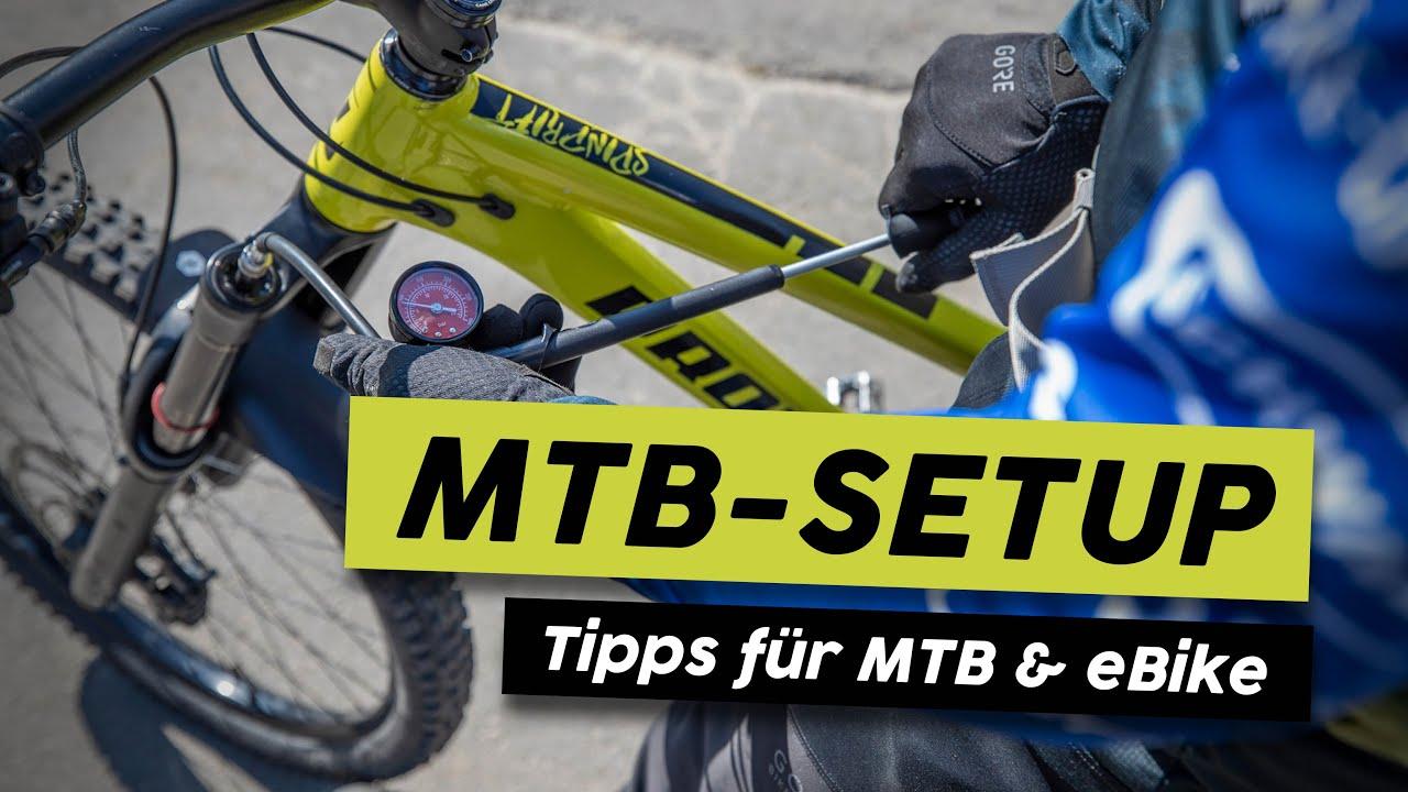 Bike Fahrwerk richtig einstellen - Tutorial | Set Up Tipps für MTB & eBike
