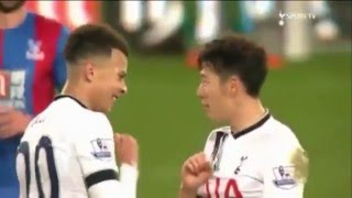 Dele Alli and Son Heung Min are great friends!