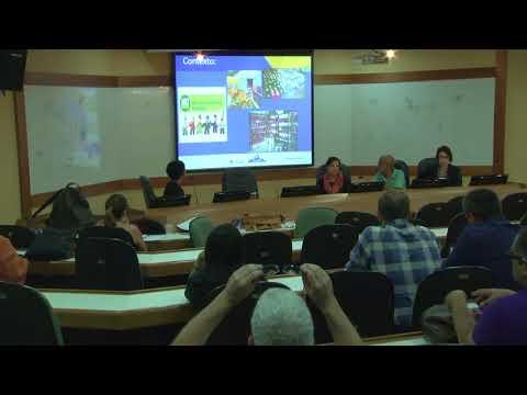 Cesteh/ENSP debate realidade e desafios dos acidentes de trabalho no Brasil - Karla Baeta