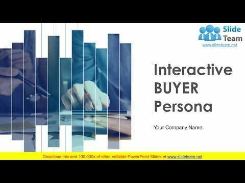 Interactive Buyer Persona PowerPoint Presentation Slides