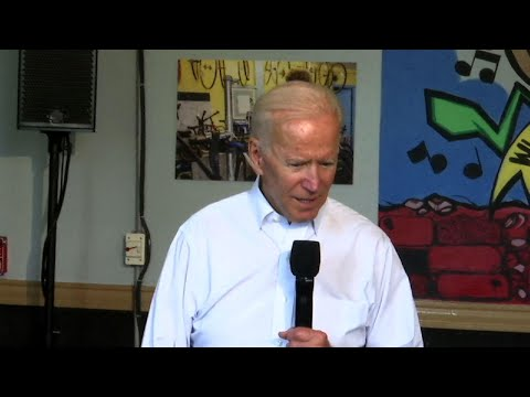 Joe Biden talks to New Orleans youth