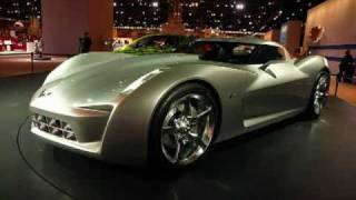 50th Anniversary Corvette Stingray Concept Videos