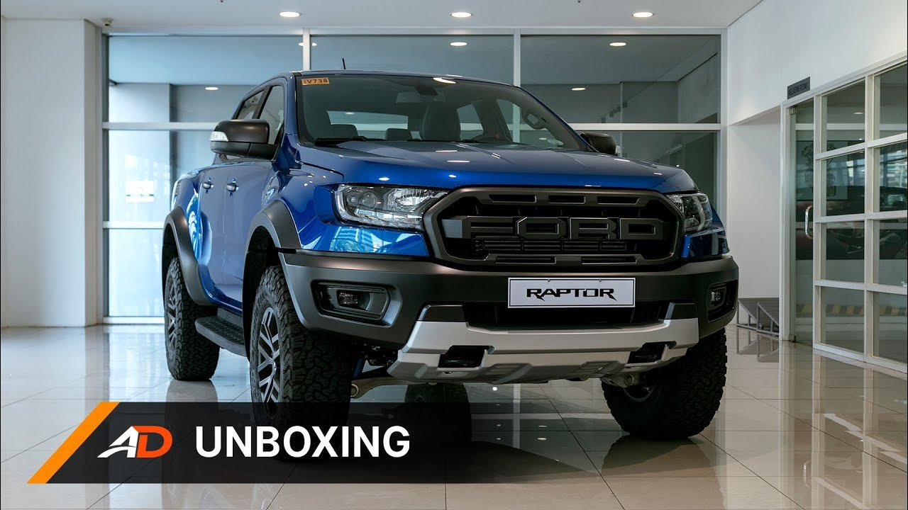 2018 Ford Ranger Raptor Unboxing Youtube