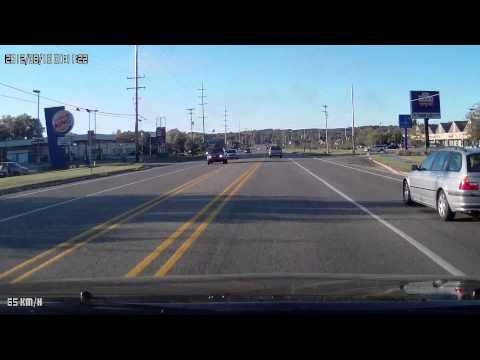 SC1000 1080P HD Vehicle Camera Built-in GPS G-Sensor Dash Cam