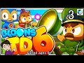Let's Play Bloons TD6 #3 Unlocking all Magic Towers!