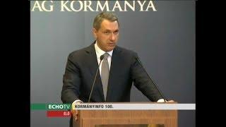 Kormányinfó (2017-10-05) - Echo Tv