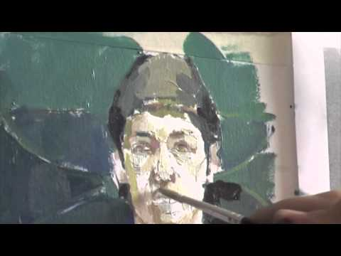Painting in oil.mov