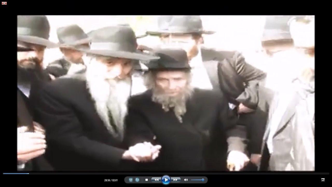 מפגש אדיר של הרב שטיינמן ורבי דוד אבוחצירא (2010)