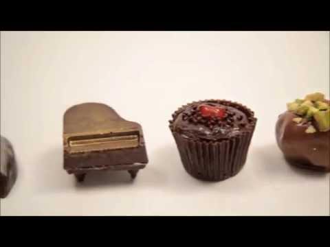 Шоколадные конфеты пралине