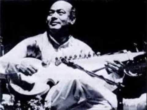 Ali Akbar Khan (1) Raga Pahari Jhinjhoti Live in Amsterdam 1985