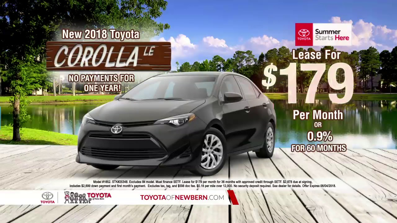 Toyota Of New Bern >> Summer Starts Here At Toyota Of New Bern Corolla Offer
