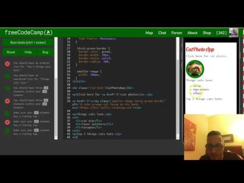 Create An Ordered List, FreeCodeCamp Review Html & Css, Lesson 26