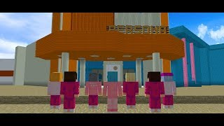 BTS BOY WITH LUV MV in Minecraft