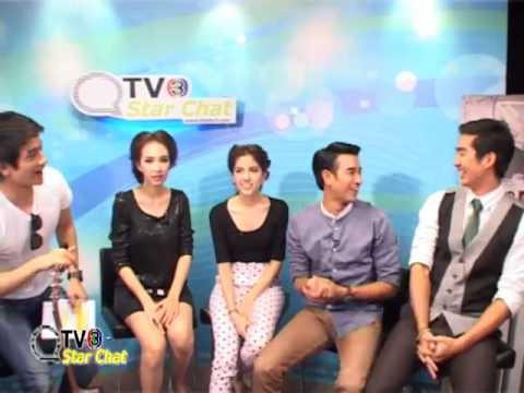130321 ThaiTV3 - Star Chat คุณชายธราธร เกรท-พรีม