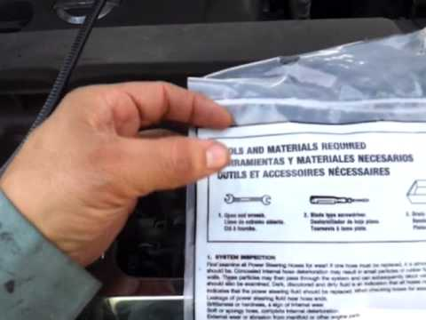 2007 Nissan Murano >> 2007 Nissan Murano Replace a Power Steering Pressure Hose video 1 of 6 - YouTube