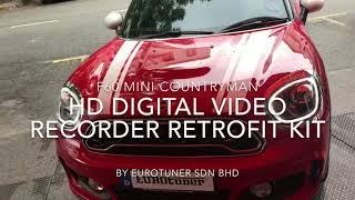 F60 MINI Countryman Front And Rear HD Digital Video Recorder retrofit kit