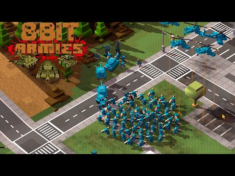 Welcome Back Commander - 8-Bit Armies Gameplay