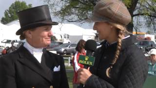 2012 Rolex Kentucky: Interview with Karen O