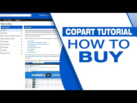 Auto Auction - Buying Made Easy - Copart USA