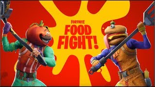 FOOD FIGHT! New Game Mode! (FORTNITE)