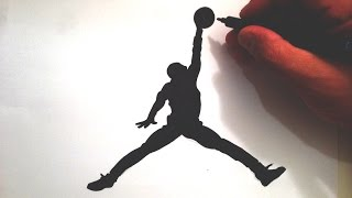 Video How to Draw the Jumpman Logo download MP3, 3GP, MP4, WEBM, AVI, FLV Agustus 2018
