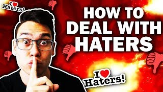 How To Deal With HATERS And NEGATIVITY! 2 Strategies Revealed - Ryan Hildreth