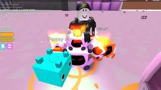 ROBLOX I Pet Simulator I episode 2 I beg Pet Dominus Rainbow and the:)) I