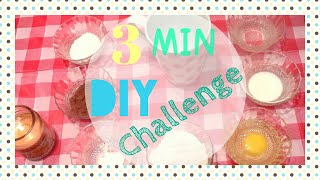 3MIN DIY Challenge | تحدي 3 دقائق ♡