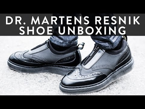 Dr. Martens Resnik   Unboxing   The New Collections   Llomotes