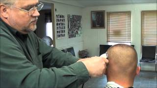 MILITARY REGULATION HIGH & TIGHT ALL THE WAY!!!!