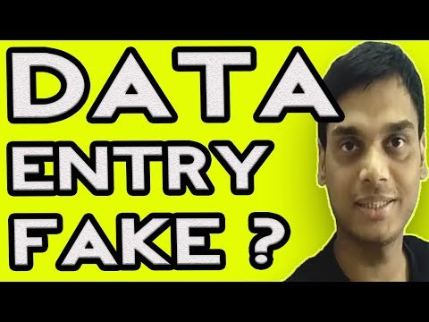 Beware of fake data entry jobs, typing or online jobs |  Never pay anyone to get jobs | Hindi