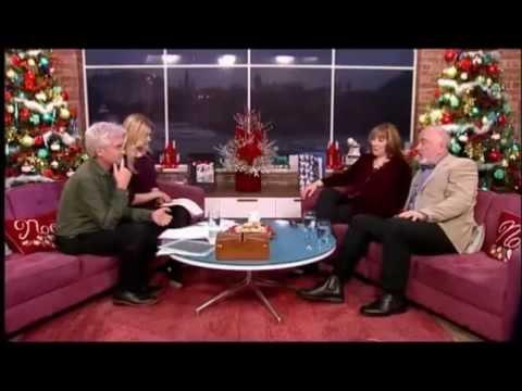 Phyllis Logan & Peter Egan Downton Abbey on ITV This Morning