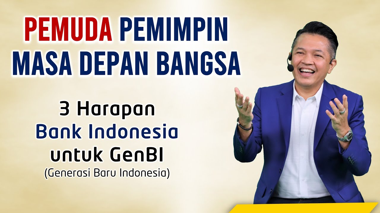 3 PERAN & KOMITMEN GenBI - Generasi Baru Indonesia