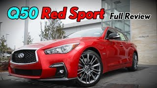2018 Infiniti Q50 Red Sport 400: Full Review