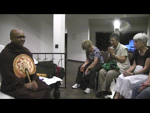Discussion with a Sri Lankan Buddhist Monk