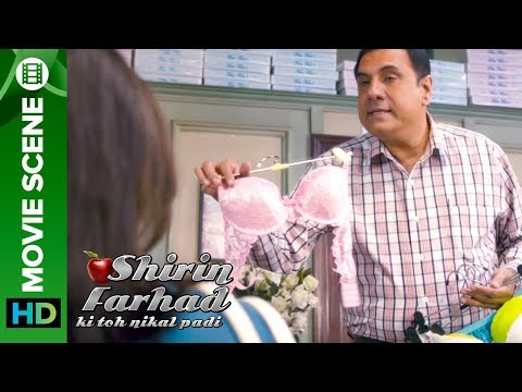 Boman knows the exact size  Shirin Farhad Ki Toh Nikal Padi