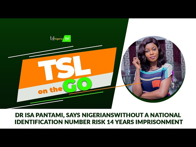 Dr Isa Pantami, says Nigerians without a National Identification Number risk 14 years imprisonment